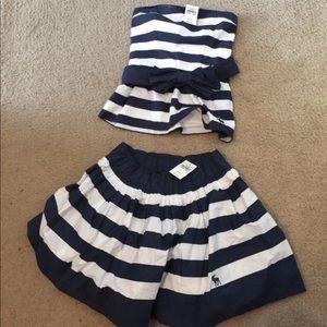 Abercrombie Skirt Set